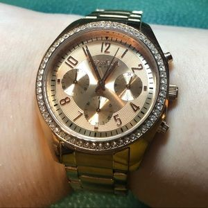Rose Gold Caravelle Watch